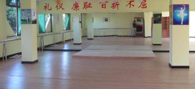 舞蹈室免费开放了