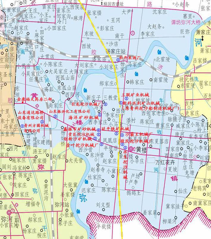 黄楼镇地图