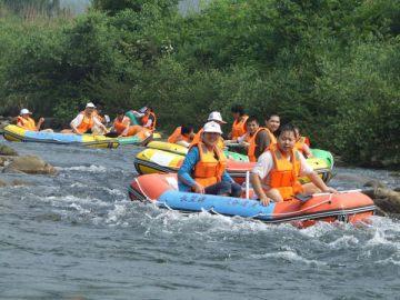 江西省武宁县银河旅游开发有限公司庐山西海长墅源峡谷漂流景区 关 键
