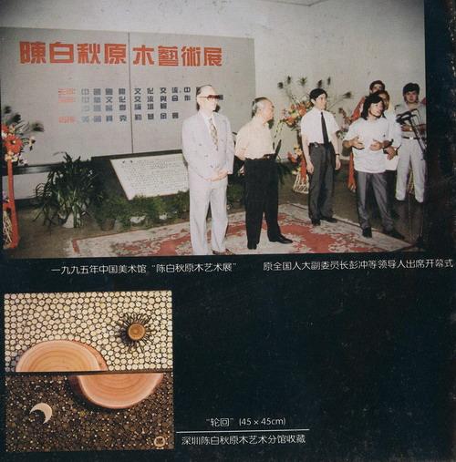 奇人陈白秋与他的原木艺术(图)