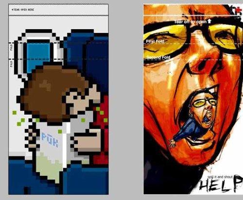 [贴图]飞机上的呕吐袋