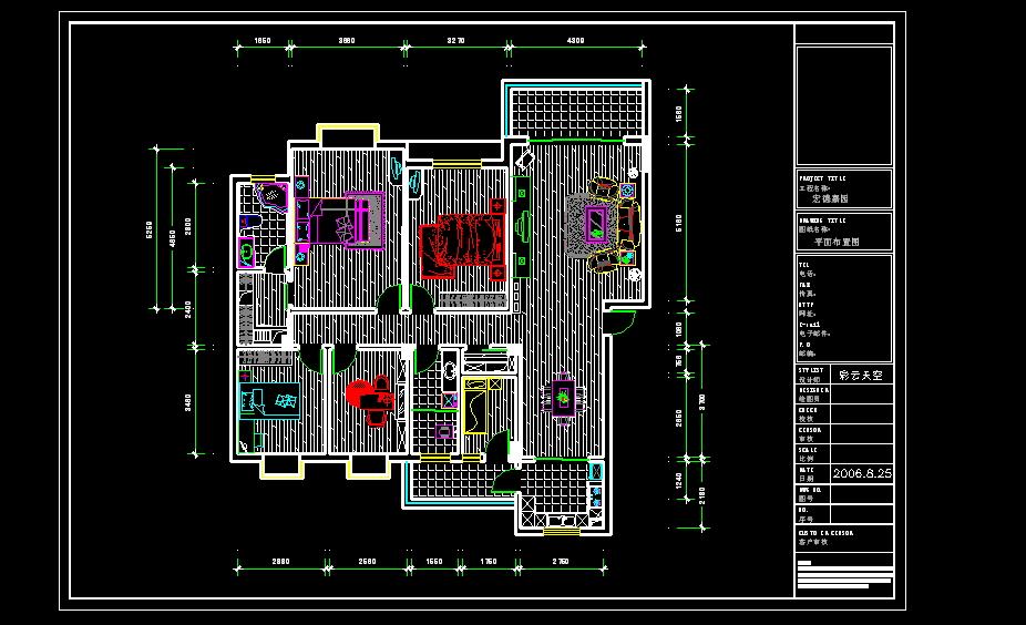 宏德嘉园6栋平面图