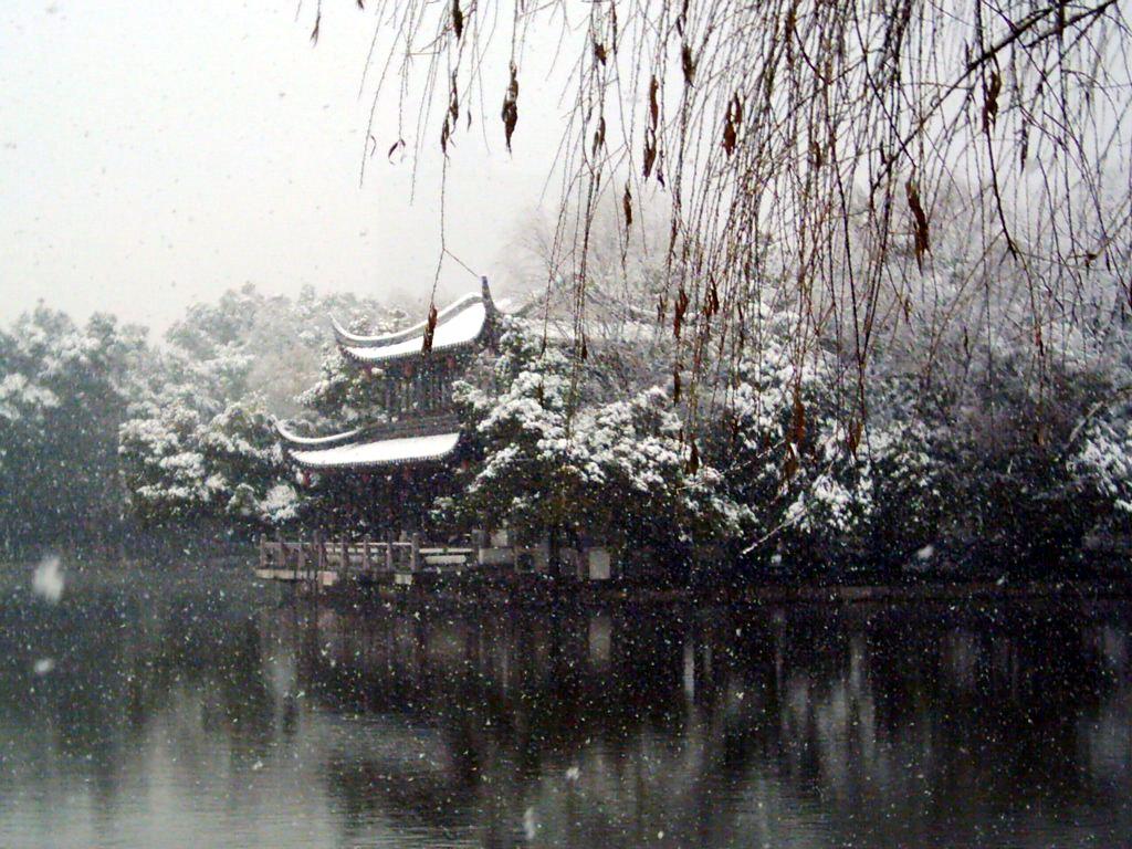 桌面 雪景/浪漫雪景