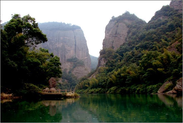 桂林橡皮山风景