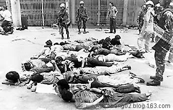 [贴图]98年印尼反华骚乱,华人惨景!【胆小勿进】