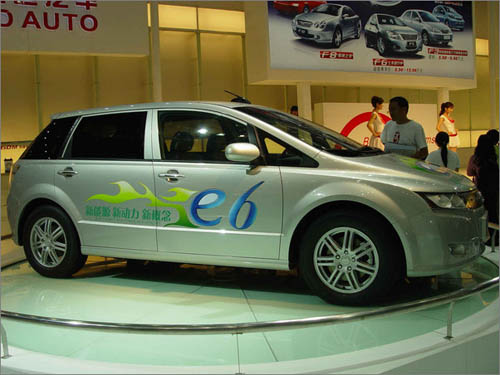比亚迪电动汽车揭秘高清图片