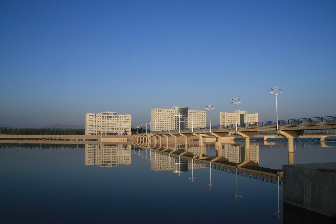 蚌埠凌湖山庄小区风景