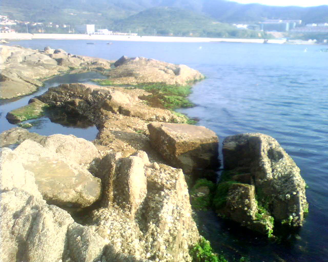 贴图 美丽/美丽的海边岩石贴图