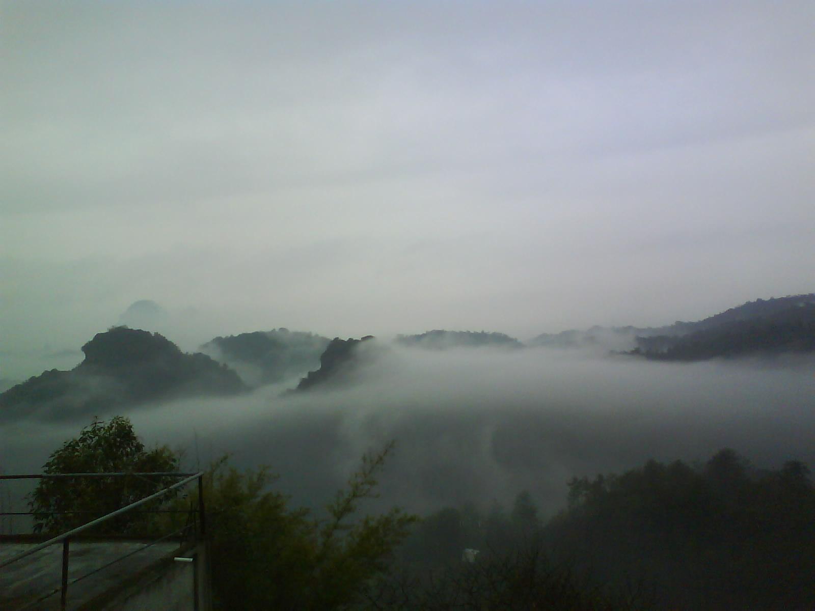 广州到潢川火车风景