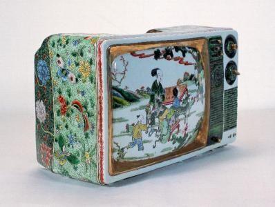 乾隆年间就有电视机了