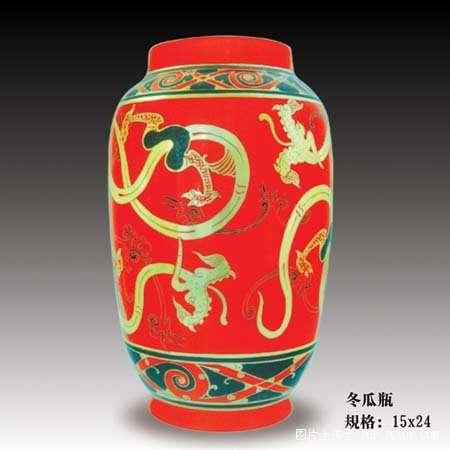 陶瓷精品——中国红