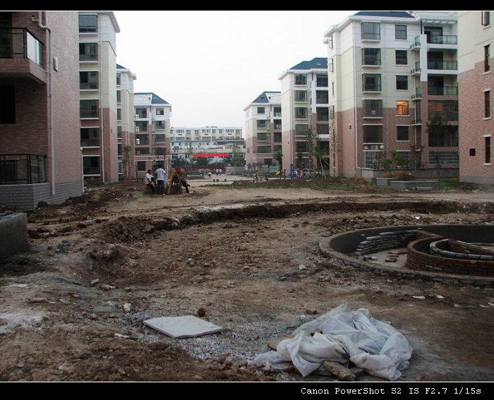 皇家建设实景图,给外地的业主看看。