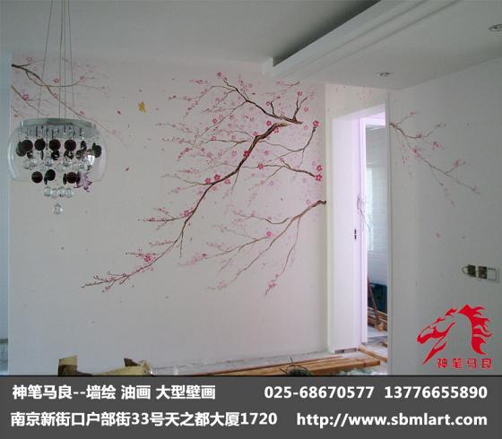 手绘室内壁画