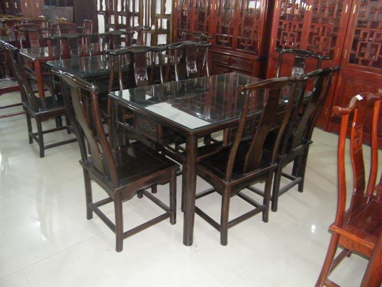 明式餐桌-青州�蛲��木家具
